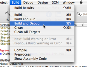 launching debugger